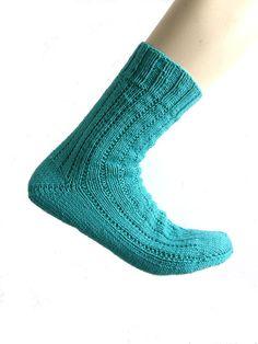 Sokken groen blauw Regia Cotton Uni maat 42/43 door Carolinevantveer