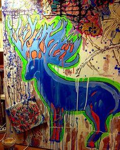 Cervi (link in Bio)  #art #arte #nature #animals #contemporaryart #Italia #italy #paintings #popart #digitalart #drawing #draw #sketch #art #artist #arte #artoftheday #artistic #artsy #illustration  #painting  #instaart #instaartist  #creative  #sketching #dibujo #instadraw #artwork #quadro #dipinti #popart
