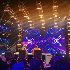 Adam Lambert (w/Iggy Azalia and Guy Sebastian) at day one of X-Factor Australia auditions Here Lyrics, Guy Sebastian, Adam Lambert, Singing, Bring It On, Australia, Angel, Guys, Concert