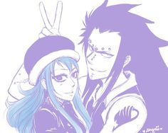 Gajeel&Juvia | I LOVE THIS FRIENDSHIP SOO MUCH!!>3<