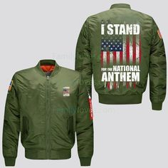 I stand for the National Anthem - jacket