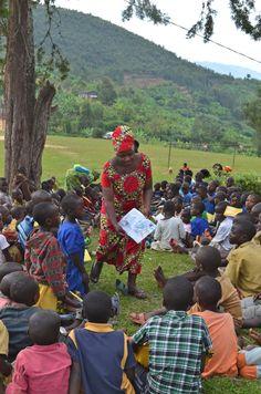 Sharing Picture Books in Rwanda