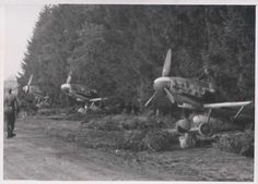 Bf 109 G-6 or G-14, III. /JG 76 (?), Stade, before 21 August 1944 (?).