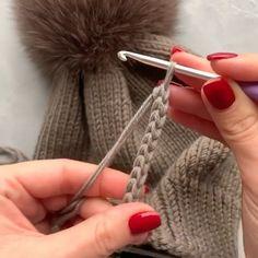 Very Beautiful 😍 Knitting Knittingpa Knittingpattern - Post - Best Knitting Crochet Stitches, Knit Crochet, Crochet Hats, Knitted Blankets, Knitted Hats, Knitting Patterns Free, Crochet Patterns, Granny Square Bag, Crochet Motif