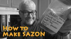 "How to make SAZON easy and cheap by""Big Family Homestead"" on youtube"