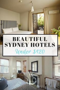 Everyone should get the chance to visit the vibrant, multicultural city of Sydney, but let's face it, this city is expensive. Here we've helped you to save cash by staying in one of these beautiful yet cheap Sydney hotels for under $120. You're welcome! (click through to read)