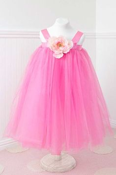 A pink tutu for a beautiful little girl!