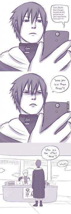 Sasuke is a simple man... - 9GAG