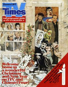 So much more than TV times 1980s Christmas, Christmas Comics, Christmas Past, Vintage Christmas, Xmas, Vintage Tv, Vintage Magazines, Films Récents, Durham Museum