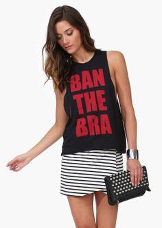 Ban The Bra Tank