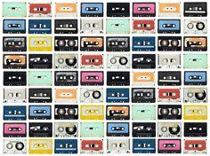 Mixed Tape | R11042 | Fotobehang | Rebel Walls de Nederland