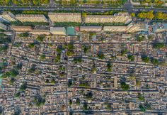 Hutongs (slum) #2 • AirPano.com • Photo. Beijing