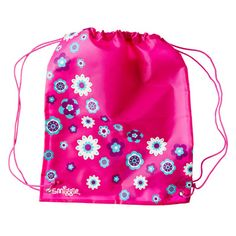 B2s Library Tote Bag from Smiggle - flower