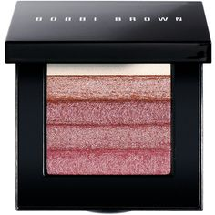 Bobbi Brown Women's Shimmer Brick Compact (155 BRL) ❤ liked on Polyvore featuring beauty products, makeup, cheek makeup, blush, pink and bobbi brown cosmetics