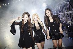 SNSD SeoHyun, HyoYeon and YuRi