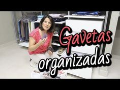 Como arrumar as gavetas: organização do guarda-roupa - YouTube