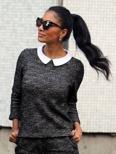 #fashion #streetstyle #look #outfit #collar #Nicole #NS