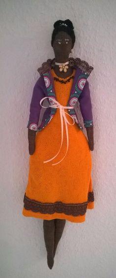Tilda Puppe Deko Anhänger Schmuck Geschenk Landhaus kein Engel Winter Herbst in Möbel & Wohnen, Dekoration, Dekofiguren | eBay