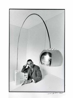Arco light, designed by Italian brothers Achille and Pier Giacomo Castiglioni in 1962