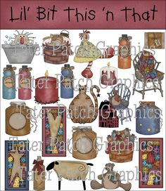 Tater Patch Graphics - Primitive, Country, Whimsical and Rustic web graphics!