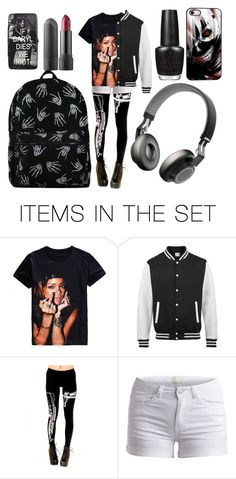 """""""be yourself"""" by animemonstergirl ❤ liked on Polyvore featuring art"""