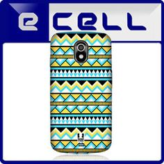 Neon Yellow and Blue Aztec Pattern Back Case for Samsung Galaxy Nexus I9250 $8.50