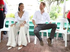 Rihanna Wore the Chicest Outfit to Meet Prince Harry via @WhoWhatWearUK