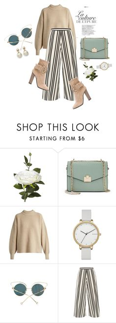 """""""One in A Million"""" by moonkist ❤ liked on Polyvore featuring OKA, By Zoé, Jennifer Lopez, The Row, Skagen, Alice + Olivia and Giuseppe Zanotti"""
