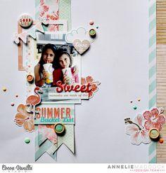 Sweet Memories   Endless Summer LO   Annelie Maddock