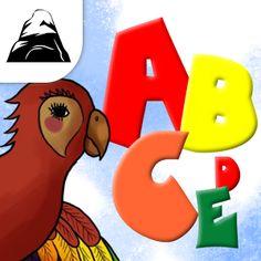 El abecedario. Esta App es un entretenido juego para niños en edad de preescolar. Trae un módulo en el que se aprende el abecedario para luego pasar al juego dónde los peques pondrán poner a prueba lo aprendido.    En el módulo de Aprender hay que escuchar a la guacamaya Frida con mucha atención para aprender cada una de las letras del abecedario que te irá mostrando. Luego podremos ir a jugar. La guacamaya dirá una letra y el niño o niña las escogerás de las opciones que tiene disponibles…