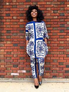 African Dress and Pant For Women, Ankara dress. Asian USA UK AU Measurement Burst Waist Hip Shoulder Length WeightS XS(4) 6 8 84 66 88 42 81/103 0.4 M S(6) 8 10