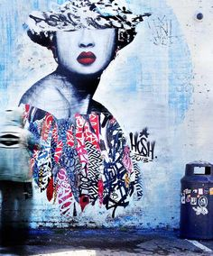 Hush piece in Newcastle #streetart #art
