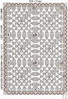 Crochet Squares, Crochet Granny, Filet Crochet, Crochet Blanket Patterns, Irish Crochet, Crochet Motif, Crochet Doilies, Knit Crochet, Motifs Granny Square
