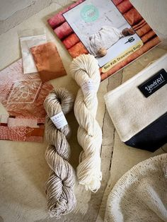 YarnYAY! August | Flax & Twine. Daytime Linen in Natural and Ecru