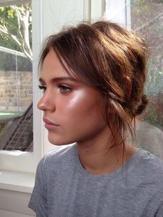 DON'T LIKE Glowy skin...Possibly a bit too much highlighter?