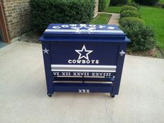 Dallas Cowboys ice chest