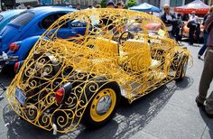 VW Bug it's like a semi-modern Cinderella carriage!