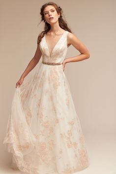 BHLDN Lily Gown in  Bride Wedding Dresses | BHLDN