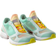 Cute and colorful running shoes by Stella McCartnety for adidas