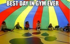 Those were the days, I looked forward to gym