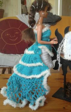 Prom Dresses, Formal Dresses, 2013, Creations, Barbie, Crochet, Image, Fashion, Gowns
