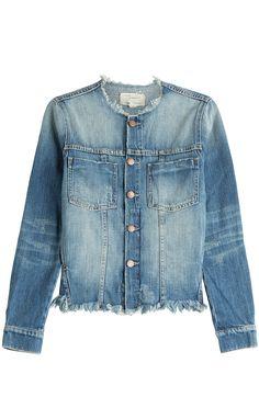 Frayed Jean Jacket detail 0