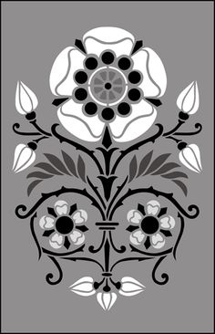 Gothic and Medieval Motif No 44 stencils, stensils and stencles - £19.45