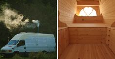 Modern Day Nomad Turns A Creeper Van Into The Tiny House Of Your Dreams