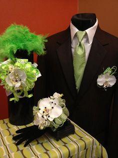 Custom Prom Set: Will custom create to match your dress.