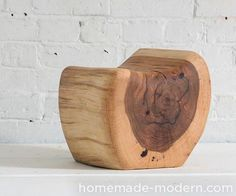 HomeMade Modern Little Log Chair