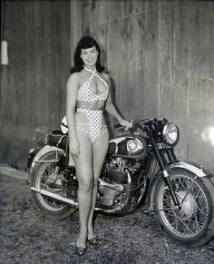 Way before H-D got into the 'Apparel' market BSA had already started to design bikinis! :-/