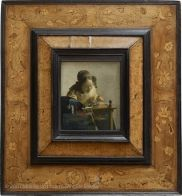 The Lacemaker - Johannes Vermeer, 1632-1675. The Louvre