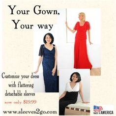 Customize your gown