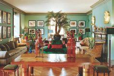 Salon moderne, design Muriel Brandolini